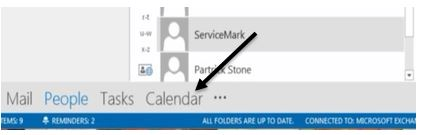 scheduling presence while scheduling a meeting in outlook calendar